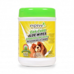 Espree Ear Care Aloe Wipes