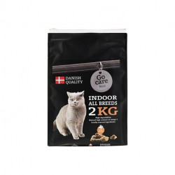Go Care Cat Royal Indoor All Breeds Seafish. 2 Kg. Vejledende pris 129,-