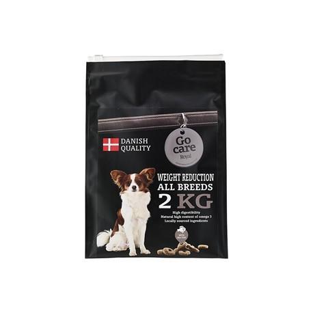 Go Care Royal Weight Reduction All Breeds Seafish. 2 Kg. Vejledende pris 129,-