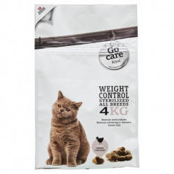 Go Care Royal Cat Weight Control & Sterilized GRAIN FREE 4 Kg.